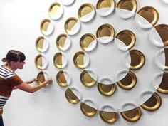 Plate Installation : Bramble Workshop  Need More Wall Art Ideas? Visit Centophobe.com (Never an Empty Room)
