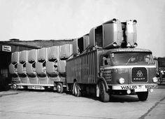 Transporte de carrocerías de VW typ 3