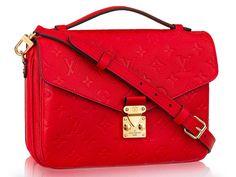 The Super Popular Louis Vuitton Pochette Métis Now Comes in Leather