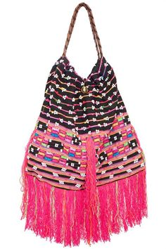Elliot Mann is located in the East Village of New York City. Known for the uniquely elegant handbags and boho chic ready to wear clothing. Gypsy Bag, Boho Gypsy, Bohemian Soul, Pink Fashion, Love Fashion, Tribal Bags, Ethnic Bag, Stylish Handbags, Unique Crochet