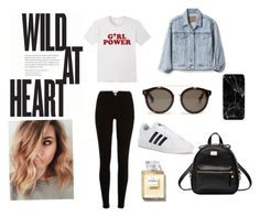 """""""Casual look"""" by carlacorucho on Polyvore featuring Gap, River Island, adidas and STELLA McCARTNEY"""