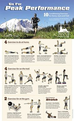 How to get trail-ready and stay injury-free during hiking's high season. Training tips and conditioning exercises.