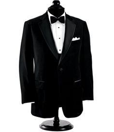 Black Velvet Dinner Jacket, Notch lapels with single-breasted front. Mens Tuxedo Jacket, Tuxedo Jackets, Skateboard Pants, Velvet Dinner Jacket, Black Suits, Black Tie, Discount Mens Clothing, Suits For Sale, Mens Dress Pants