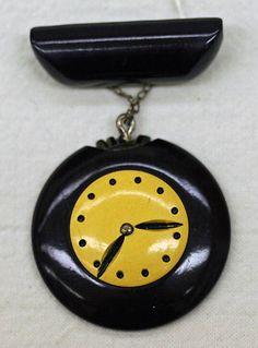 Bakelite clock pin