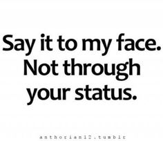 Omg so true... I wish I kept count of how many peoples' statuses I KNEW were about me. UGH@Jasmine Danielle