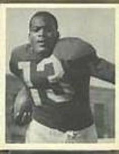 Kenny Washington - First African-American to play football - Los Angeles Rams 1946 1948