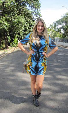 Butterfly Style #fashoin #style #moda #blogsdemoda #falardemoda