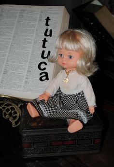 Boneca Tutuca da Estrela e Molde de Roupa da Tutuca -70s