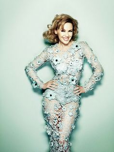 Kylie Minogue for Glamour UK