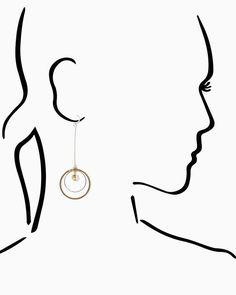 Charming charlie Saturnalia Drop Earrings