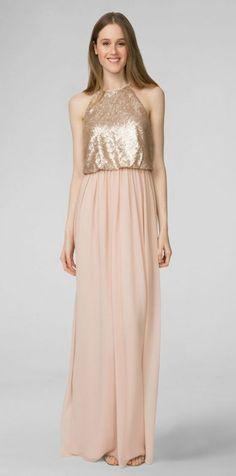 4a1b2174b2 61 Trendy Dress Bridesmaid Rose Gold Donna Morgan  dress