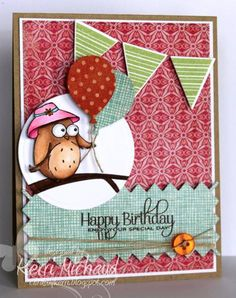 Hello!  I made this for this week's Color Throwdown Challenge #200!  We are celebrating with lots of Blog Candy, so make sure you check out the Color Throwdown Blog for details:)  I used the adorable Your Next Stamp Spring Owl stamp set for my card.  Thanks for taking a peek!  My blog:  www.cardsbykerri.blogspot.com Image:  www.yournextstamp.com CTD Blog:  www.colorthrowdown.blogspot.com