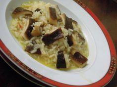 Arroz de cogumelos com açafrão http://grafe-e-faca.com/pt/receitas/molhos-acompanhamentos/acompanhamentos/arroz-de-cogumelos-com-acafrao/