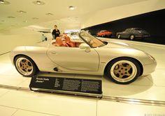 Porsche Boxster 986 original concept car at the Porsche Museum