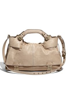 Kooba Hailey Studded Leather Satchel