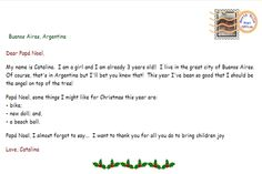 Email Santa..He will reply ASAP!