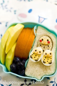 #Owl Bento | Mothering Corner  via: http://www.myowlbarn.com/2013/04/collection-owl-bento.html