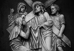 https://flic.kr/p/QsNQ1c | Christus begegnet Veronika | St. Lambertus, Castrop-Rauxel