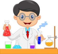 Cartoon of scientists Royalty Free Vector Image , Science Classroom, Art Classroom, Scientist Cartoon, Science Chart, Science Equipment, Powerpoint Background Design, School Frame, New Backgrounds, 6th Birthday Parties