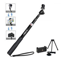 Telescoping Selfie Stick Tripod Stand Monopod for Gopro Hero and Manufacturer - Mibote, EAN - Color - Extendable, Dimensions - x x Package Dimensions - x x Weight (lbs) - Package Weight (lbs) - Category - Tripods Monopods, UPC - 611536165097 Modern Tools, Gopro Hero 5, Photo Bag, Camera Tripod, Video Capture, Selfie Stick, Ukulele, Telescope