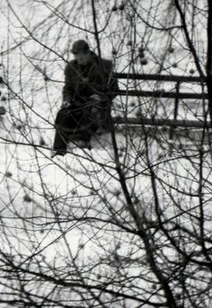 Solitude, photography by André Kertész, 1960.