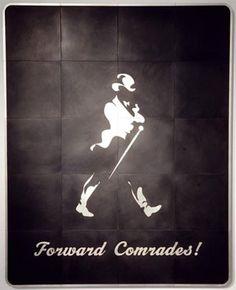 Brett Murray se Forward Comrades (hout en plastiek, was deel van sy uitstalling Hail to the Thief II in die Goodman-galery in Johannesburg. Hail To The Thief, Van, Architecture, Artist, Movie Posters, Pictures, Style, Arquitetura, Photos