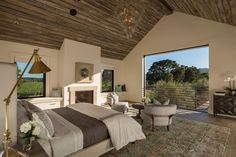 Fresh modern farmhouse style with stunning views of Napa wine country. (Image Courtesy of Holder Design Associates) Decor Styles, Country Farmhouse Decor, Home, Modern Farmhouse Style, Wine Country, House Design, California Homes, Country Style Homes, Country House Decor