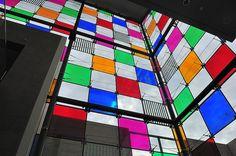 Daniel Buren: powerful colors