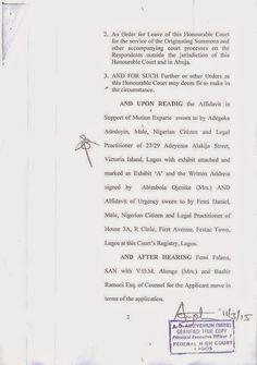 It's Busayolayemi's Blog.. : AIT, NTA & NBC Gets Court Order Against Airing Dam...