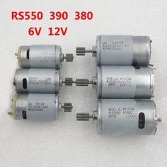 6ボルト12ボルト子供の電気自動車のおもちゃの車とオートバイ専用モータベビーカーアクセサリーRS280 rs380 390 550ギアボックスモーター