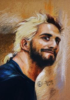 finally managed to take a decent photo of this piece of @WWERollins ! #wwefanart #sethrollins pic.twitter.com/UxUkovLJjR