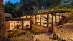 """Think """"Malibu,"""" and mansions on the beach might come to mind. But this wood-and-glass Mid-Century Modern retreat is on the market for $2.25 million."""