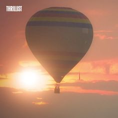You Can Soar Above South Dakota's Black Hills In A Hot-Air Balloon- see the video