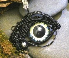 These Twisted Sister Arts Pendants Have Their Eyes on You trendhunter.com
