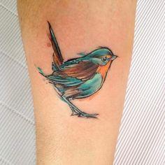 Songbird Tattoo by Adrian Bascur