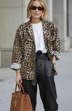 Print Jacket, Fashion 2020, Blazer, Chic, Jeans, Jackets, Animal, Women, Style