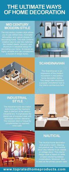Improvement Bedroom How To Paint Home Improvement DIY Bedroom Simple Decorating A New Home, Home Decor, Moving Home, Amazing Decor, Natural Shapes, Mid-century Modern, 3d Printing, Home Improvement, Infographics