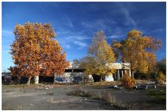 Photo by me. Photo: Diána Rigó - Budapest, in the fall of 2012, at an abandoned car wash. #budapest #hungary #photography #fall #autumn