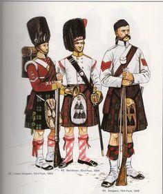 93rd Highlander -Indian Mutiny