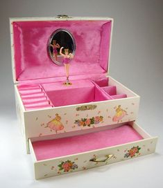 Dancing Ballerina Music Box | ... ballerina dance! Vintage 1993 Twirling Ballerina Jewelry Music Box