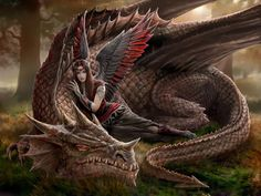 The girl and the dragon -