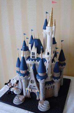 Disney palace cake