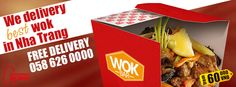 We delivery of the most delicious noodles #WOK in Nha Trang! 5 different taste, large portions + Free delivery! You can order by phone: 058-626-0000 #NhaTrangFood #FoodDelivery #FoodDeliveryNhaTrang  #food #Vietnam #NhaTrang