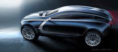 Bugatti Grand Colombier by Ondrej Jirec, via Behance
