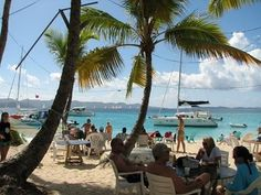Soggy Dollar Bar, Jost Van Dyke, BVI. One of the best bars in the world.
