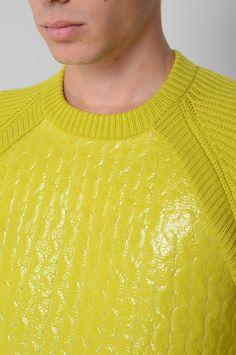 Crewneck Yellow Sweater