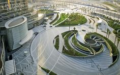 Public spaces at the Burj Khalifa in Dubayy, United Arab Emirates, are a tour de force by SOM's Nada Andric.