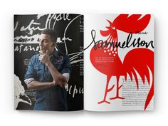 Marcus Samuelsson spread by Mike Ryan