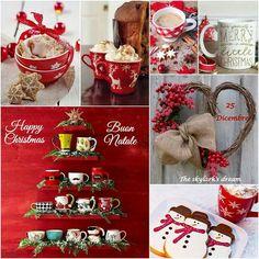 Christmas Collage, Christmas Mood, Little Christmas, Christmas And New Year, Christmas Crafts, Merry Christmas, Christmas Decorations, Christmas Images, Hello December