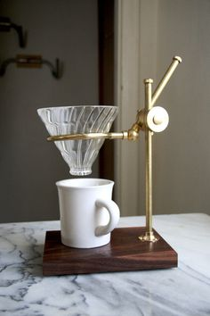 The Professor Coffee Pour Over Stand by TheCoffeeRegistry